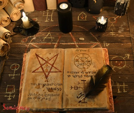 book of shadows vs Grimoire