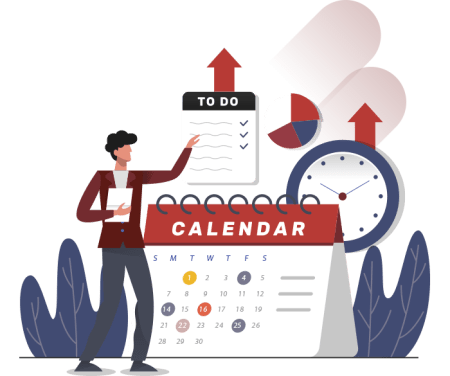 8 pasos para hacer una estrategia de marketing en redes sociales, por Occultu Media. Crea un calendario editorial.