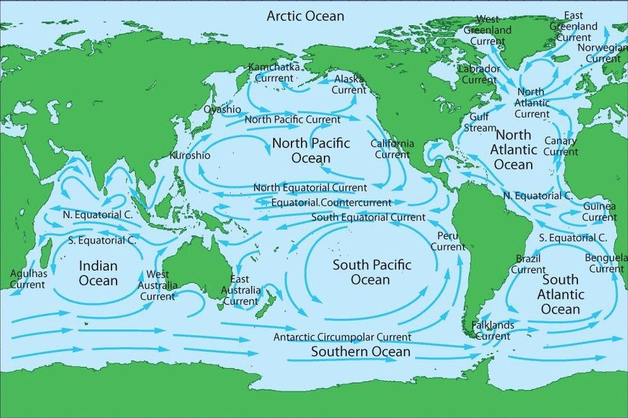 Ocean Currents Ocean Pro Weather