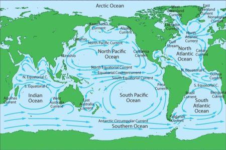 map pacific ocean currents » Free Interior Design   Mir Detok