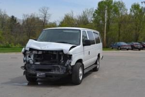 truck-van crash -1