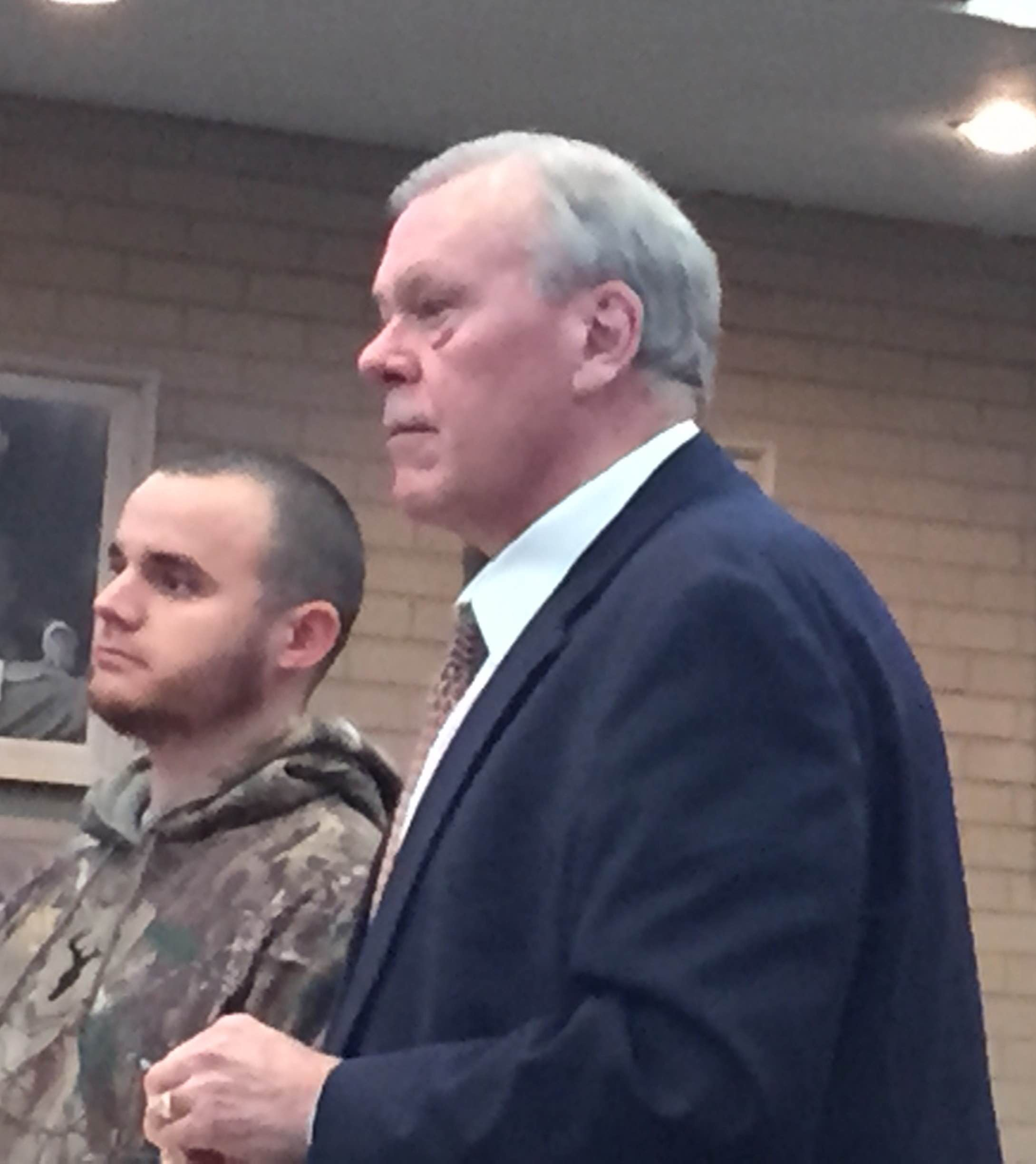 Eli O Dovich At Left With His Attorney Eric Boeschenstein During A November Court Hearing