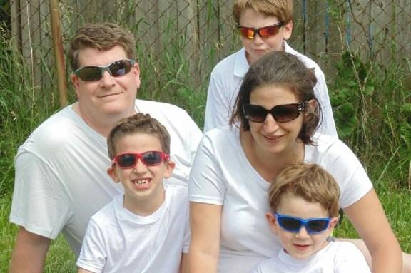 The Weston family.