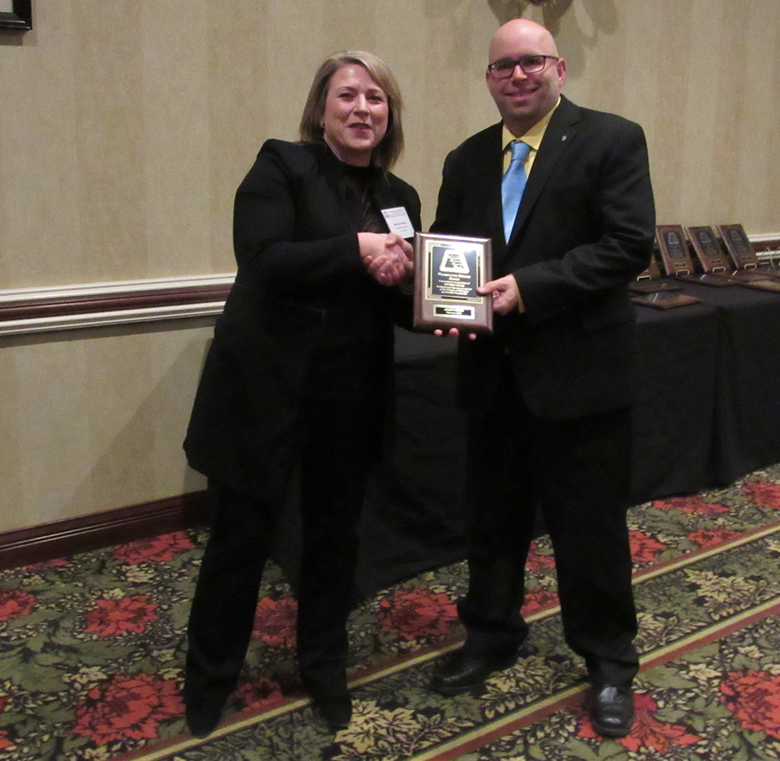 Prosecutor honored for 15 years of service