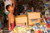 Kid in a Toy shop
