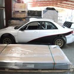 Racing Subaru from Sweden