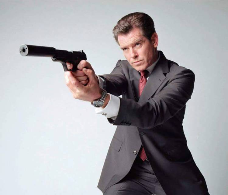 Brosnan as Bond