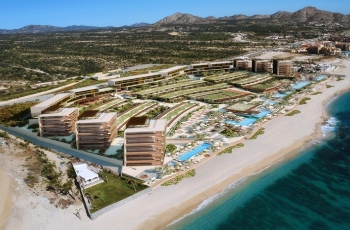The Residences at Solaz Aerial View