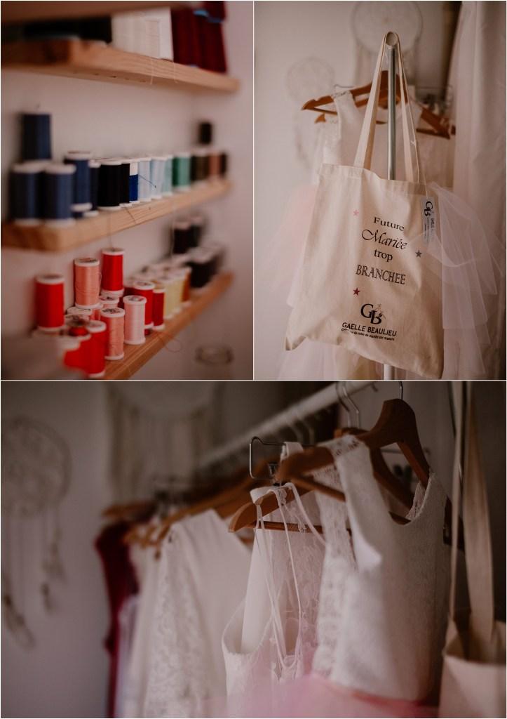 Créatrice de robe de mariée : Gaëlle Beaulieu, Photographe Mariage : Océane Drollat, Paris, Région Parisienne, Val d'Oise, cérémonie laïque