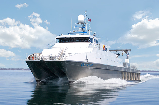 Surveying and Mapping - M/V Sea Scout Updating Nautical Charts for NOAA