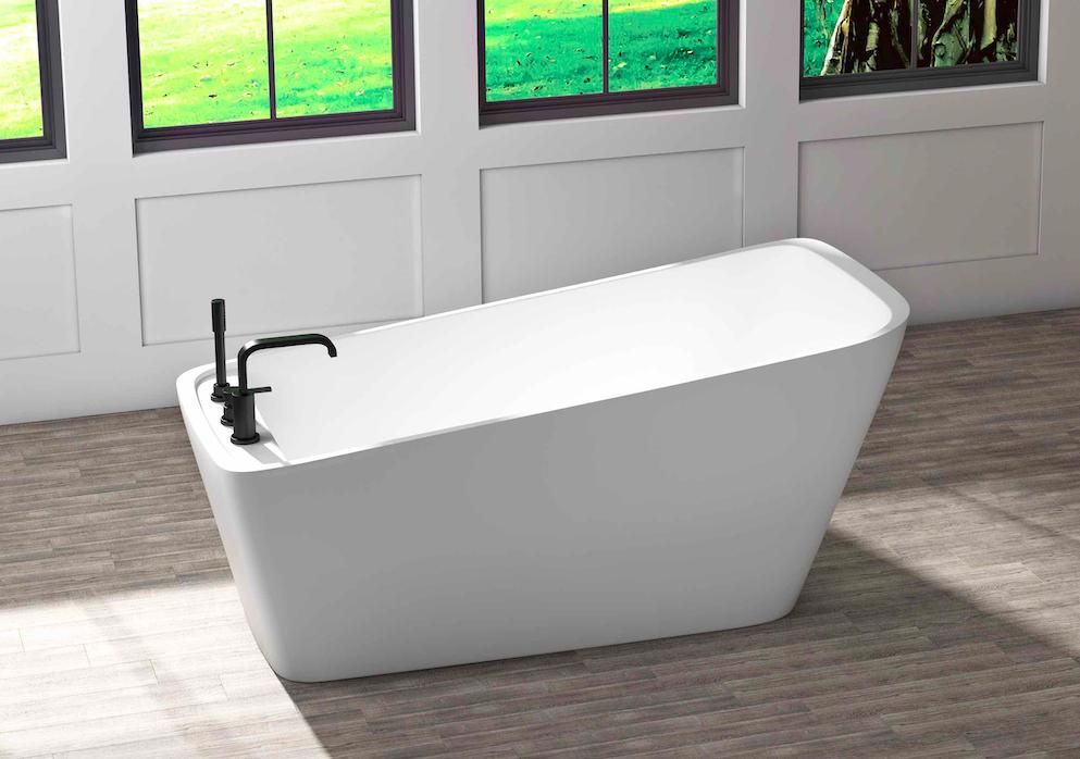 sikome 63 deck mount faucet