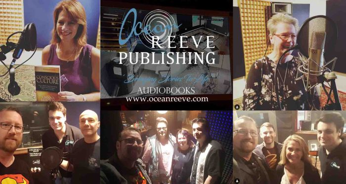 Ocean Reeve Publishing provides a professional audiobook recording and distribution service