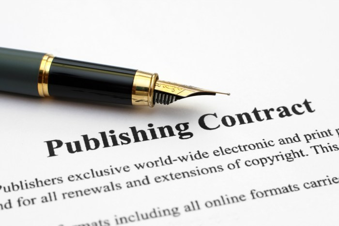Win a traditional publishing contract