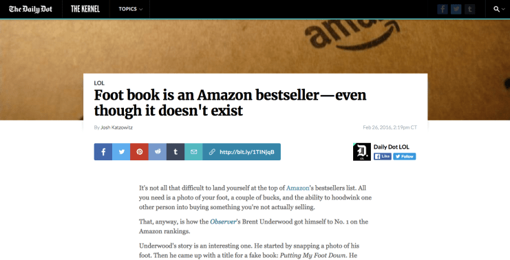 How This Marketer Created a Fake Best Seller