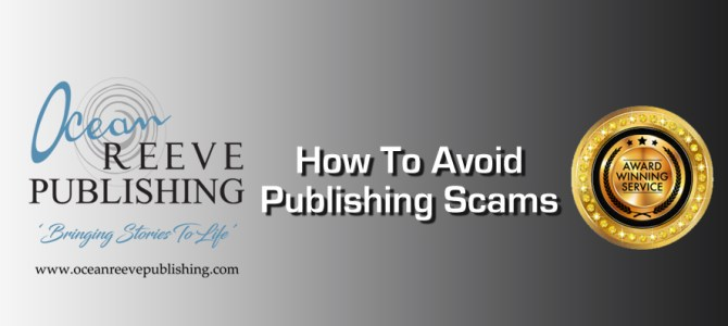 How To Avoid Publishing Scams