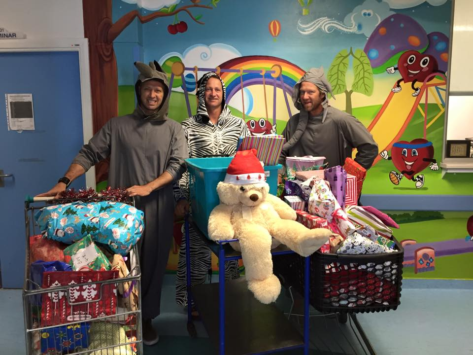 Present Delivery To The Red Cross Childrens Hospital!