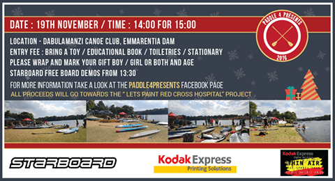Paddle For Presents JHB