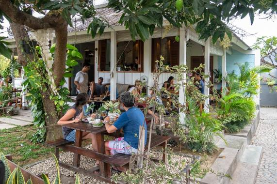 Das The Shady Shack in Canggu.