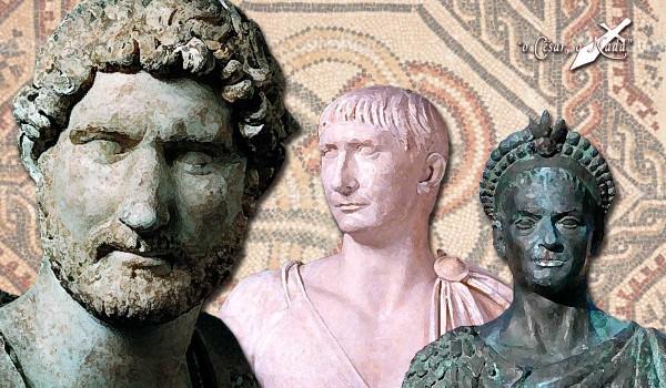 Adriano Trajano Teodosio emperadores hispanos