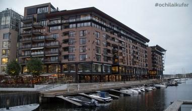 Aker Brygge, пристанищният квартал на Осло