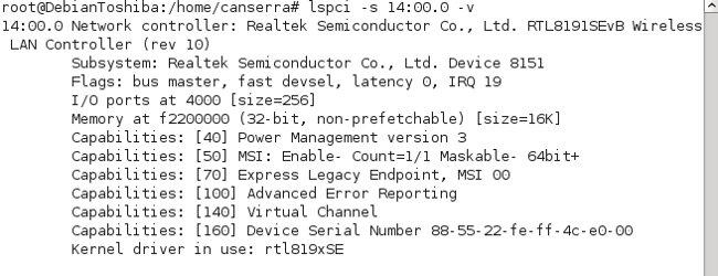 Configurar e instalar módulo WIFI con Debian (Toshiba Satellite) (4/5)