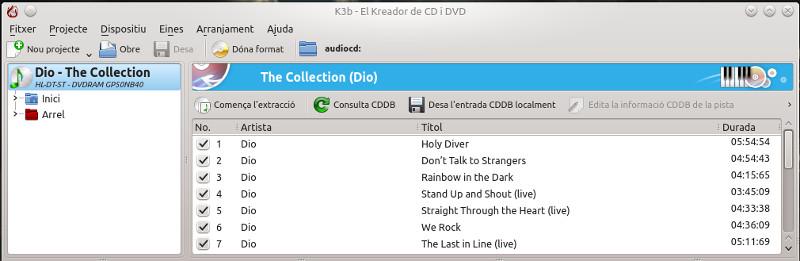 Guardar nuestra colección de cd's con K3b (4/6)