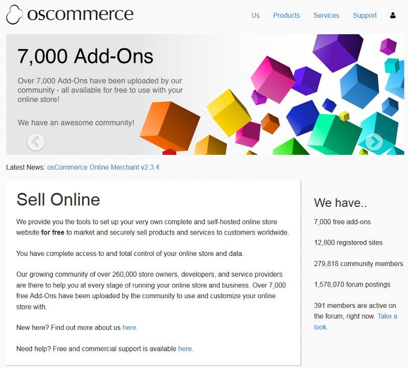 Crea tu propia tienda online con OsCommerce (2/6)