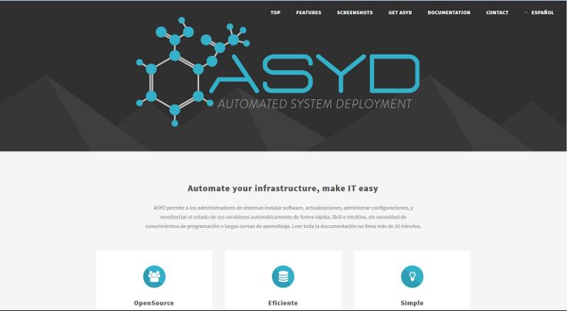Automatiza tu infrasestructura con ASYD (1/6)