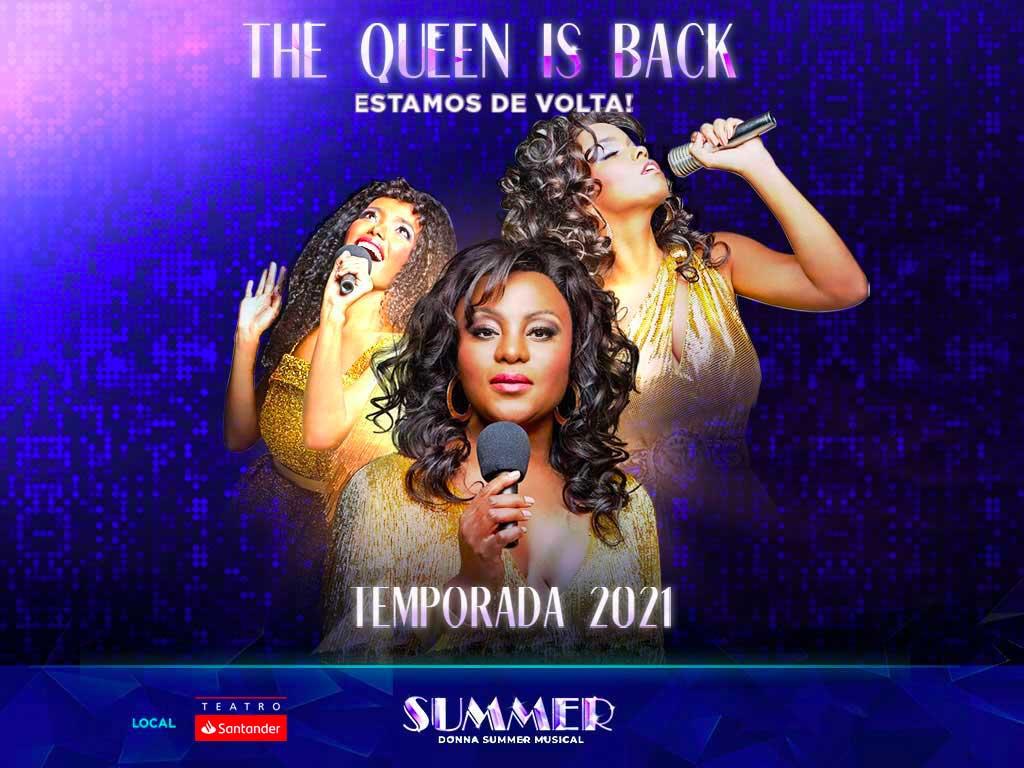 Donna Summer Musical retorna em setembro no Teatro Santander