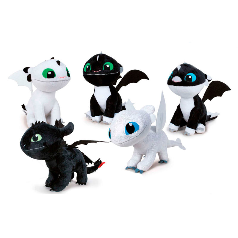 How To Train Your Dragon 3 Assorted Plush Toy 40cm