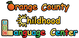 Logo for The Orange County Childhood Language Center