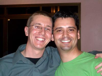 Eu e Léo em 2005