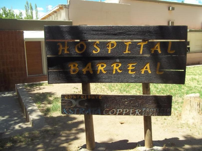 SJ Barreal Hosp XstrataCooper