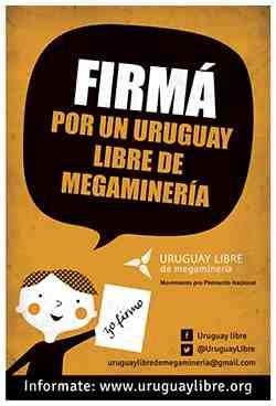 uruguay libre de mineria