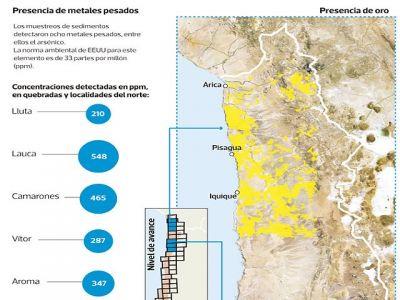 mapa geoquimico chile