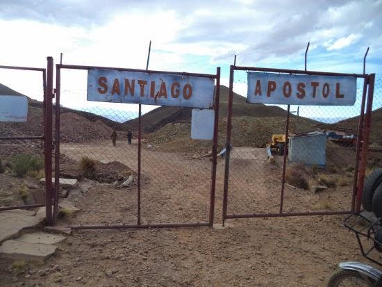 minera Santiago apostoll bolivia