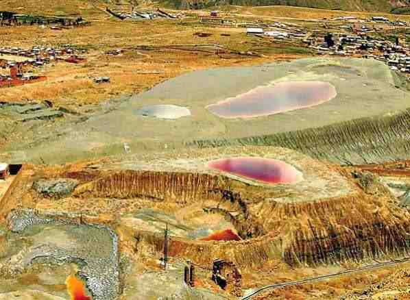 minera en turco bolivia