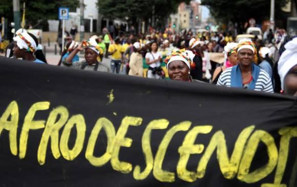 mujeres afrodescendientes colombiaa
