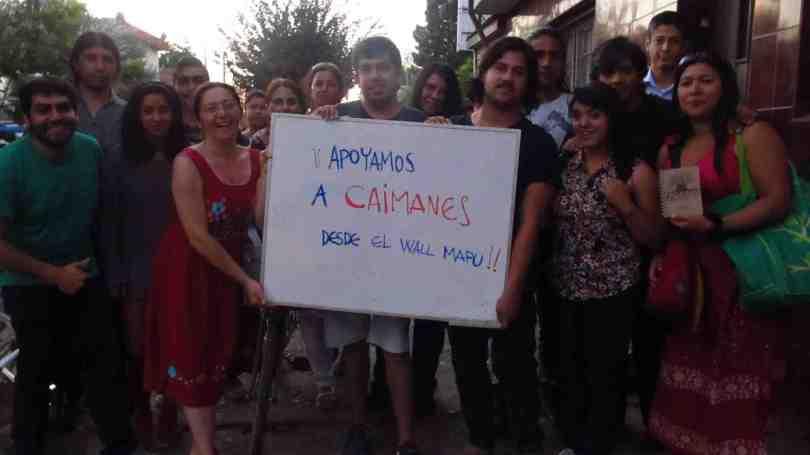 apoyo a caimanes mapuches