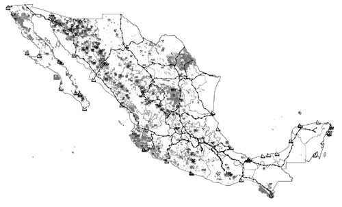 concesiones mineras mexico 2012