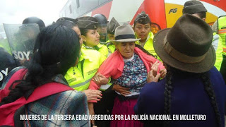 mujer detenida ecuador