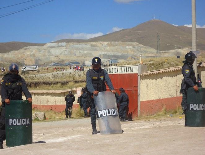 policia peruana