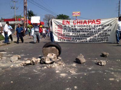 Chiapas mineras sin permiso M