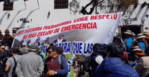 Apurimac, Estado de Emergencia, Perú.