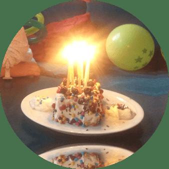 kinderfeestje taart