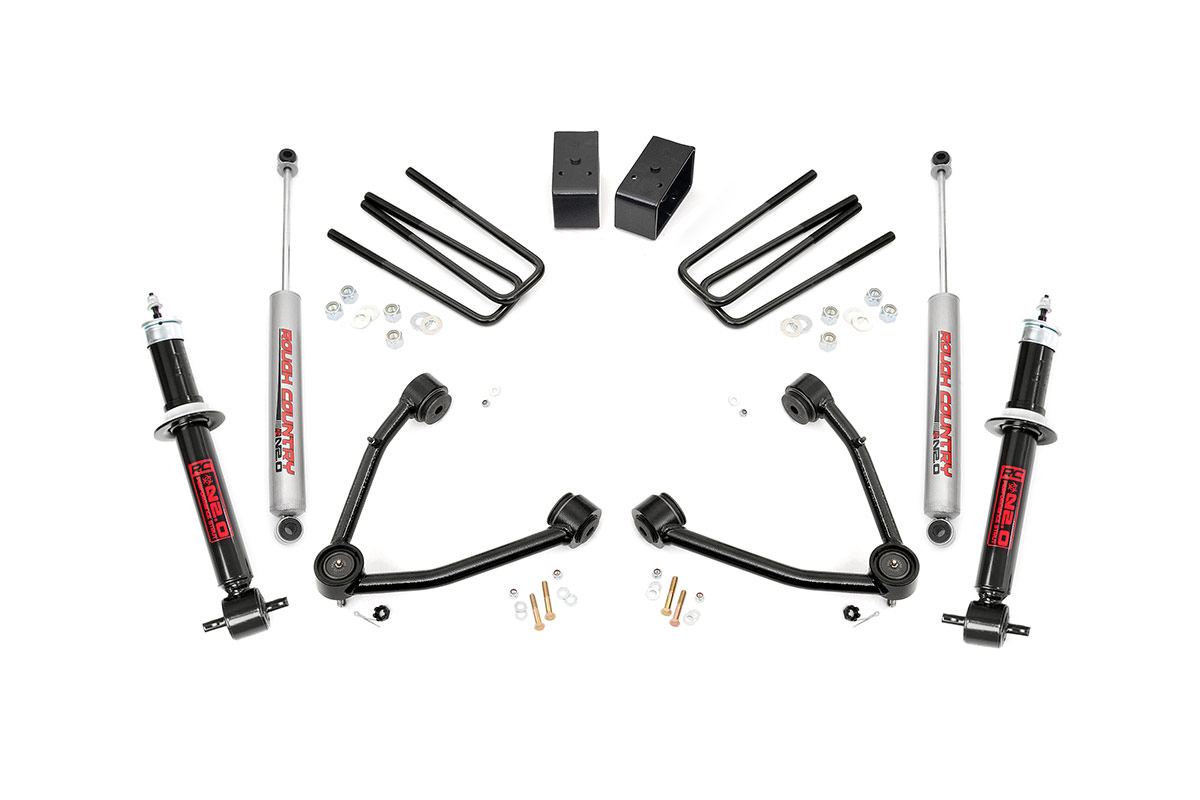 6 Inch Suspension Lift Kit Fits Chevrolet 95 04 S10