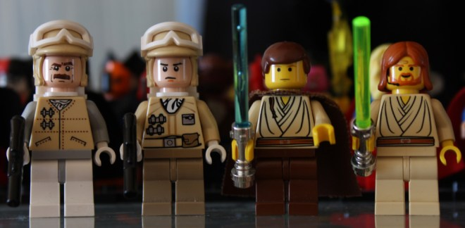 Hoth and Vintage Minifigures