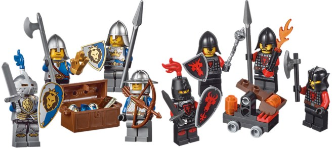 Lego Castle Packs