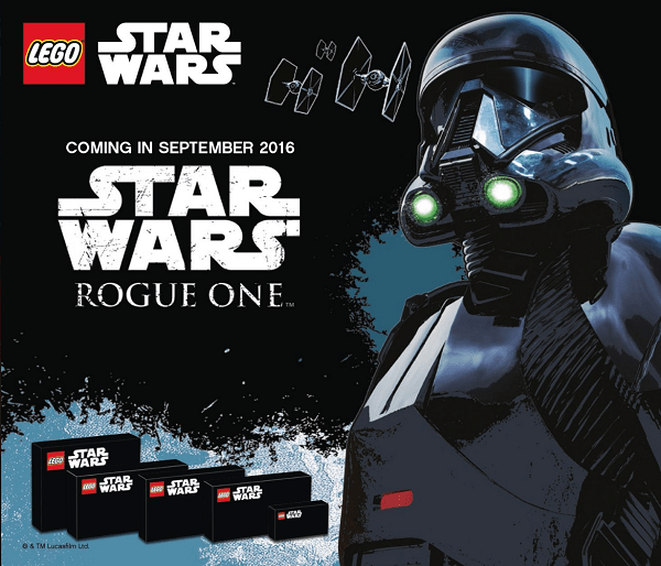 Rogue One Lego Tease