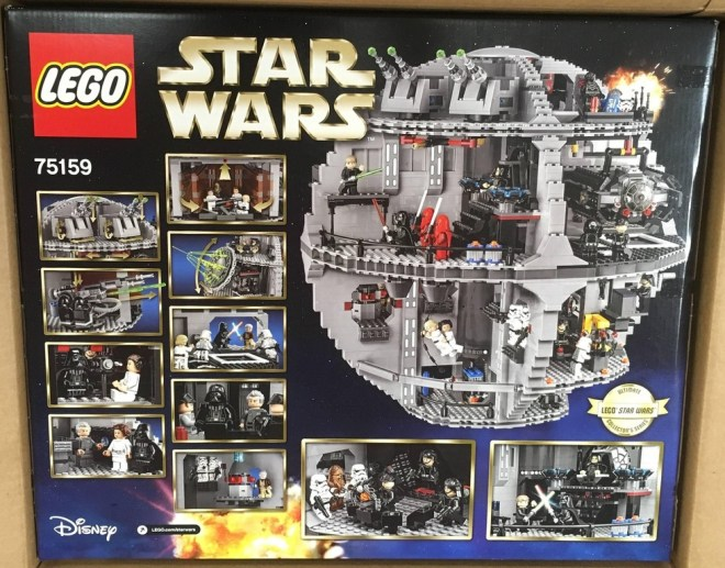LEGO 75159 Death Star Back back